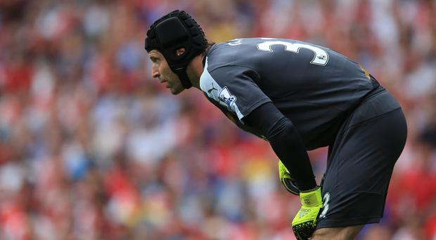 Petr Cech was at fault for both goals in a 2-0 defeat on his Premier League debut for Arsenal