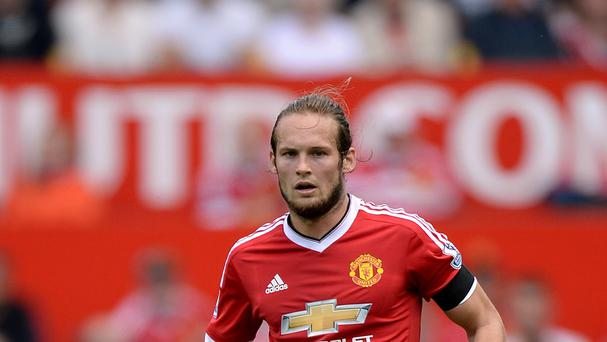 From the centre of defence Daley Blind helped Manchester United keep Tottenham's attack at bay on Saturday