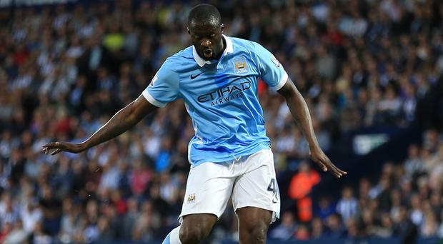 Yaya Toure was on target as City opened with a 3-0 victory at West Brom