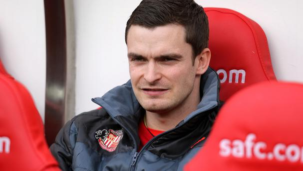 Sunderland's Adam Johnson is set to be sidelined for at least eight weeks