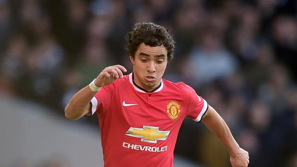 Rafael has hit out at Louis van Gaal