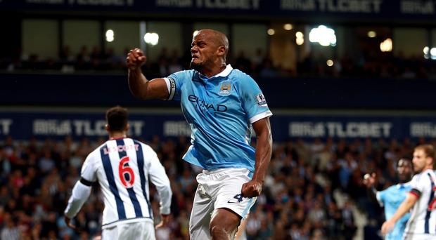 Manchester City skipper Vincent Kompany, pictured, would welcome Kevin De Bruyne at the Etihad.