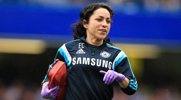 Chelsea doctor Eva Carneiro has received support from FIFA's chief medical officer