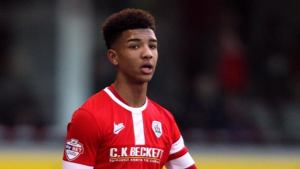 Mason Holgate has joined Everton from Barnsley
