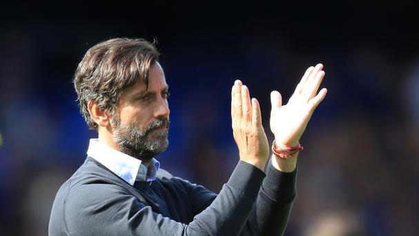 Watford head coach Quique Sanchez Flores, pictured, says Alessandro Diamanti is unlikely to face West Brom on Saturday