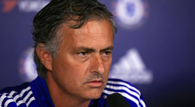 Jose Mourinho was not happy during his Friday press conference
