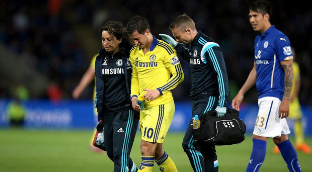 Chelsea doctor Eva Carneiro, left, and physio Jon Fearn, right, came in for criticism from manager Jose Mourinho