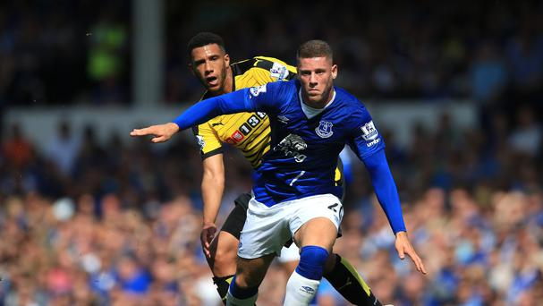 Ross Barkley has benefited from last season's difficulties, according to team-mate Gareth Barry.