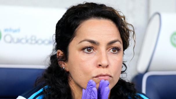 Chelsea team doctor Eva Carneiro will not be on the bench for the game against Manchester City