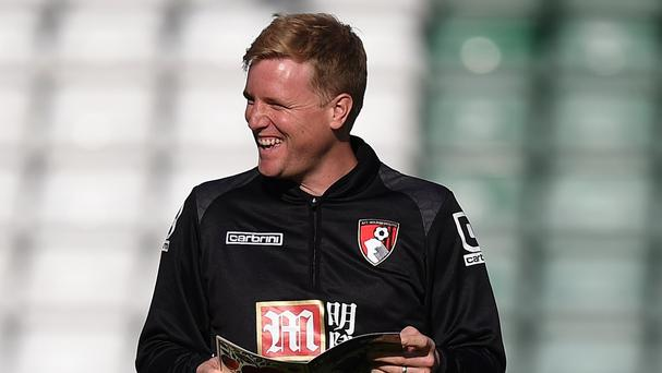 Bournemouth manager Eddie Howe is known for encouraging an attractive brand of football