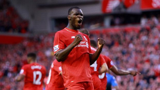Liverpool's Christian Benteke struck his side's winner against Bournemouth