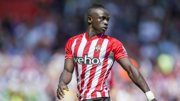 Sadio Mane impressed last year for Saints and United now want to buy him