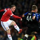 Wayne Rooney failed to find the net during United's 3-1 win over Club Brugge