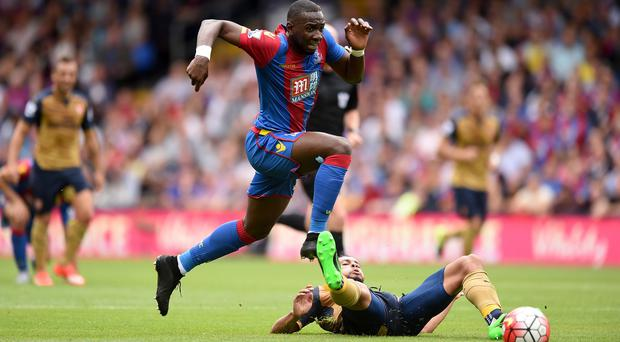 Yannick Bolasie is reportedly a target for Totttenham