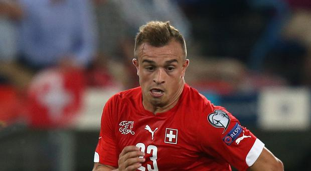 Xherdan Shaqiri is poised to make his Stoke debut on Saturday