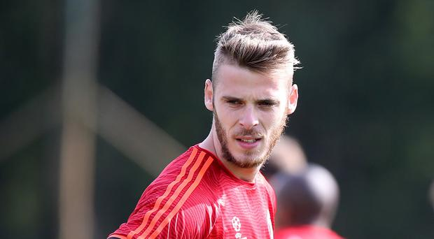 David De Gea has not played for Manchester United yet this season