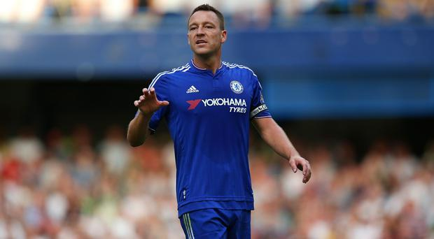 John Terry will hope to keep his place in the Chelsea defence on Sunday