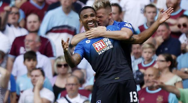 Bournemouth's Callum Wilson scored a hat-trick