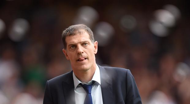 Slaven Bilic is feeling the pressure
