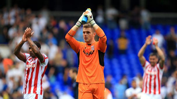 Stoke goalkeeper Jack Butland was impressive at Stoke