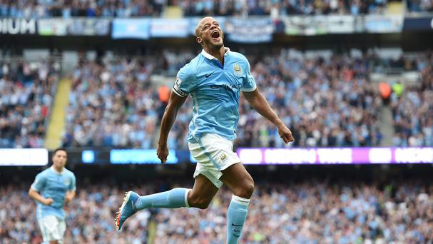 Manchester City captain Vincent Kompany has been rejuvenated this season