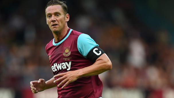 Kevin Nolan has left West Ham