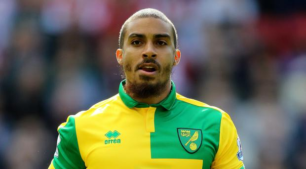 Norwich have confirmed that striker Lewis Grabban has been suspended by the club