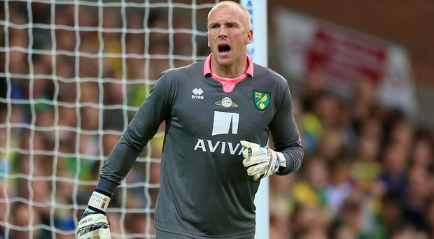 Norwich goalkeeper John Ruddy hopes Southampton are suffering from a European hangover