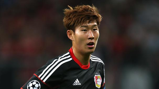 Tottenham have signed Son Heung-min from Bayer Leverkusen