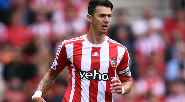 Southampton captain Jose Fonte had an early header cleared off the line in defeat to FC Midtjylland