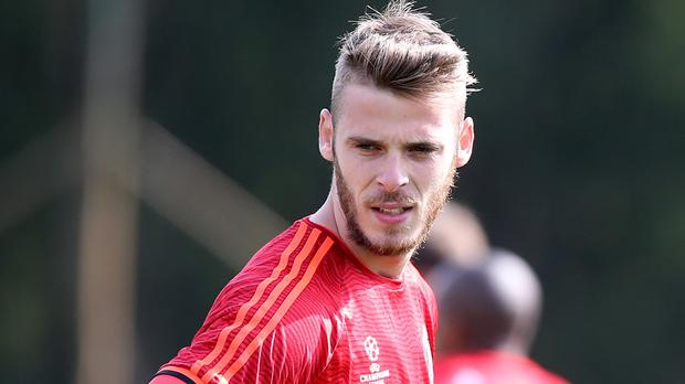 David de Gea has not taken part in any of United's five games this season