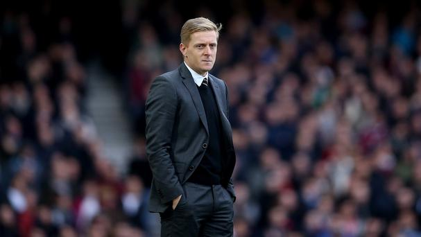 Swansea manager Garry Monk is looking for a third successive victory over Manchester United