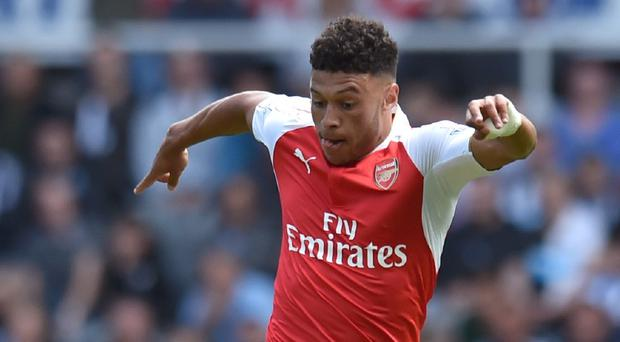 Alex Oxlade-Chamberlain's deflected strike gave Arsenal three points