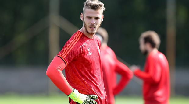 David de Gea remains a Manchester United player