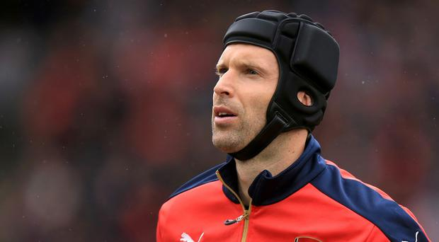 Petr Cech was Arsenal's only signing during the summer transfer window