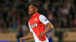 Anthony Martial joined Manchester United in a record £36m deal from Monaco