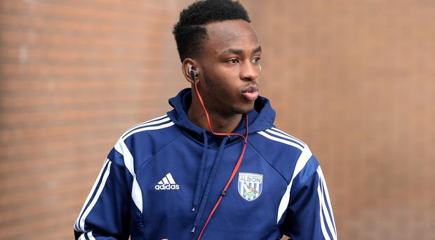 Saido Berahino trained with West Brom on Monday