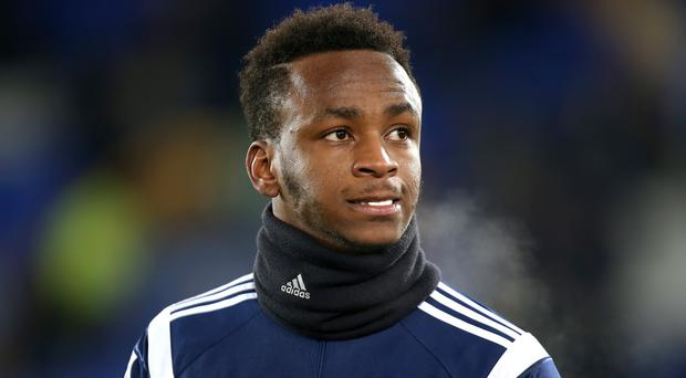 Saido Berahino had a transfer request at West Brom turned down last month.