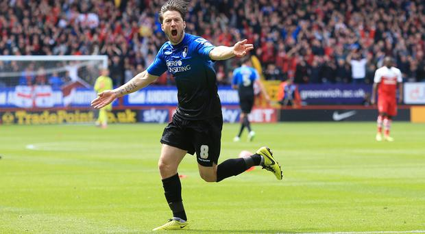 Bournemouth's Harry Arter is closing in on a first-team return