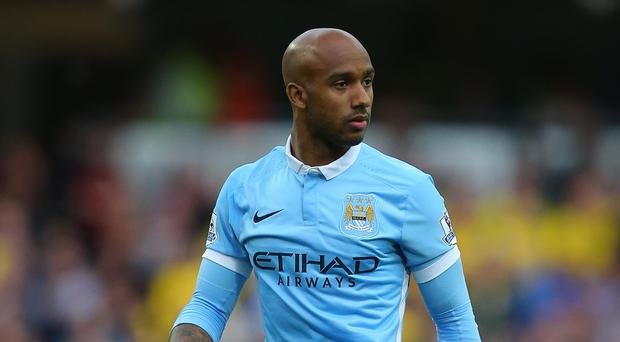 Manchester City's Fabian Delph is sidelined again