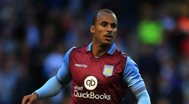 Gabby Agbonlahor has struggled for goals recently but is Aston Villa's record Barclays Premier League goalscorer