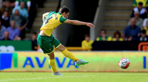 Wesley Hoolahan was in fine form for Norwich