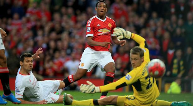 Anthony Martial made an instant impression at Old Trafford