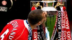 Rio Ferdinand won 11 major trophies during a 12-year spell at Manchester United