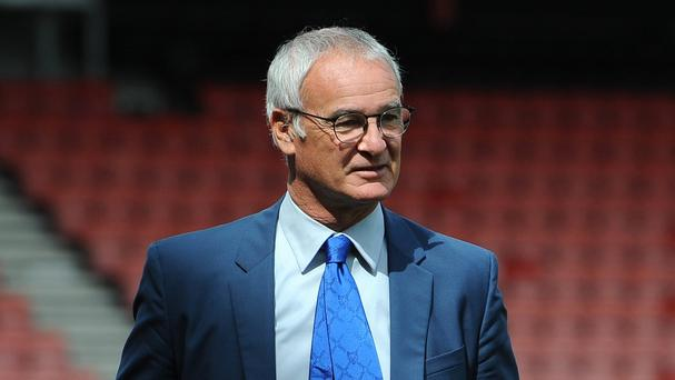 Claudio Ranieri is unbeaten in five Premier League games with Leicester