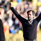 Quique Sanchez Flores saw his Watford side win at home to Swansea last weekend