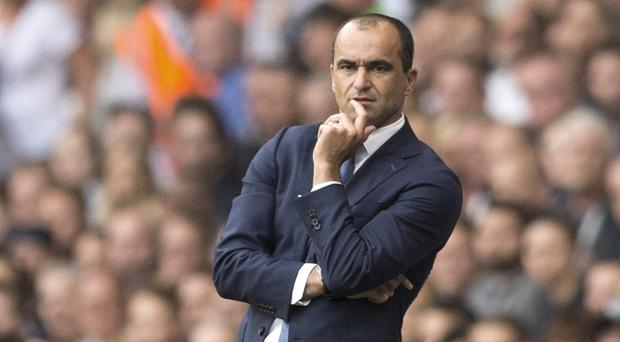 Roberto Martinez saw his Everton side beat Chelsea last weekend