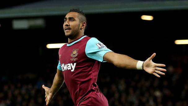 Dimitri Payet has scored three goals in five games for West Ham this season