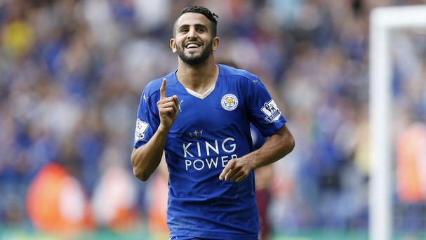 Riyad Mahrez has been in fine form this campaign