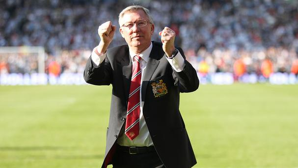 Sir Alex Ferguson retired as Manchester United boss in May 2013